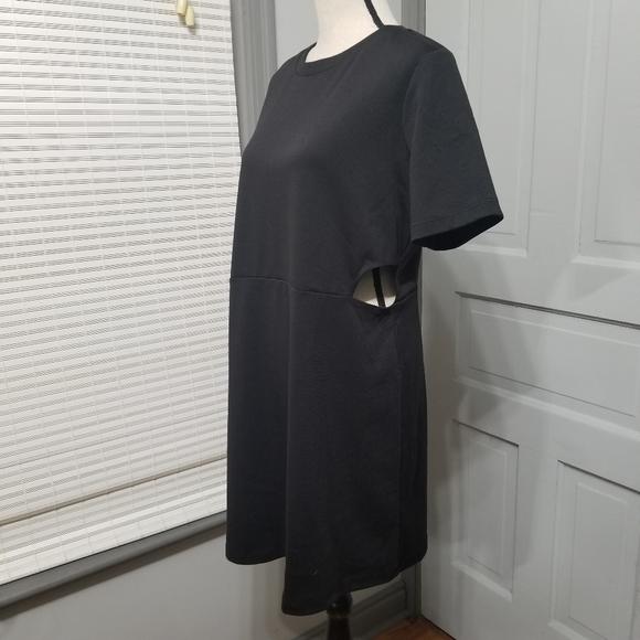 ASOS Design Curve Mini Dress with Cutout Sidea